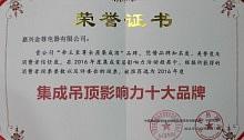 帝王至尊企业荣誉证书