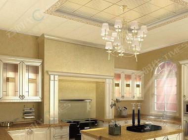 云时代全屋整装效果图 厨房效果图-装修效果图
