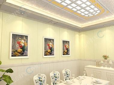 云时代全屋整装效果图 餐厅效果图-装修效果图