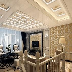 普洛达客厅吊顶效果图-装修效果图