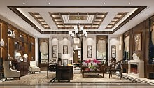 中式客厅,中国人骨子里的美学