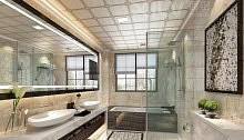 西铝集成吊顶卫生间效果图