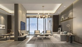 全屋 | 三室两厅150㎡ 咖色系现代风的思考