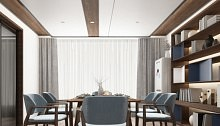 欧美丨蜂窝大板吊顶与家居装修的色彩搭配之五大技巧!