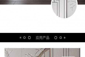 2019联邦尚品道新中式卧室背景墙案例