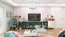 索菲尼洛丨现代轻奢定制吊顶让家甜而不腻