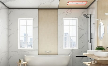 欧美吊顶丨卫浴空间的精致生活,由卫浴电器智能化为您一一实现!