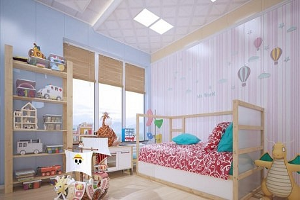 """不得不看的裝修要點,打造""""最懂孩子""""的兒童房!"""