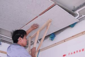木质吊顶施工过程详解