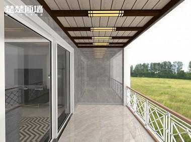楚楚吊顶 阳台 效果图-装修效果图