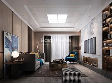 巴迪斯 客厅吊顶效果图-装修效果图