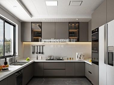 巴迪斯 厨房吊顶效果图-装修效果图