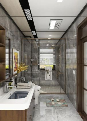 法狮龙顶墙产品改造72平方精装房