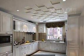 西铝集成吊顶厨房效果图