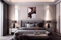 品格净味健康客厅卧室背景墙效果图