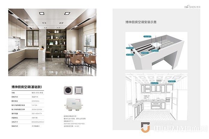 博伸厨房集成空调11