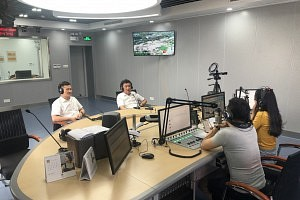 鼎美董事长张轲应邀参加嘉兴FM88.2电台现场访谈