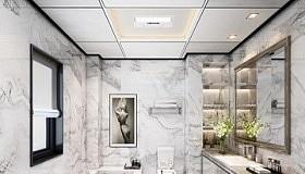 装修案例 | 高颜值的卫生间怎么装?