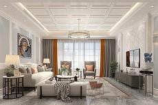 你家的客厅吊顶,楚楚顶墙多样风格 留下完美初印象