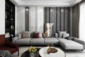 法狮龙新品德尚长城板系列,打造精致优雅的背景墙