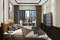卧室背景墙丨美好的家居空间,让幸福降临
