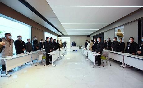 今顶集团2020年度部门总结会议圆满召开