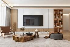 奥华电视背景墙拯救客厅的颜值