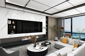 200m²装修实例   现代极简+轻奢风,越纯粹越高级!